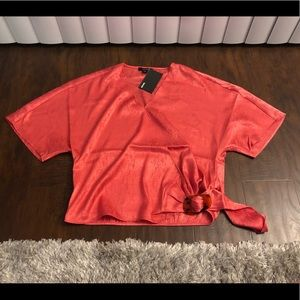 Kenzie Women's Short Sleeve Top Size Small